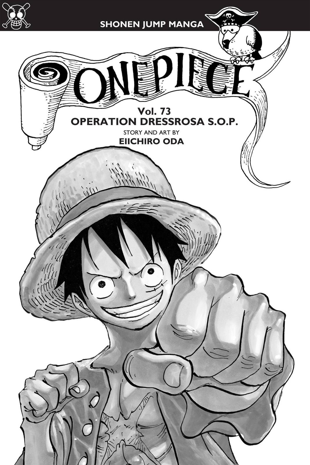 One Piece, Chapter 722 image 004