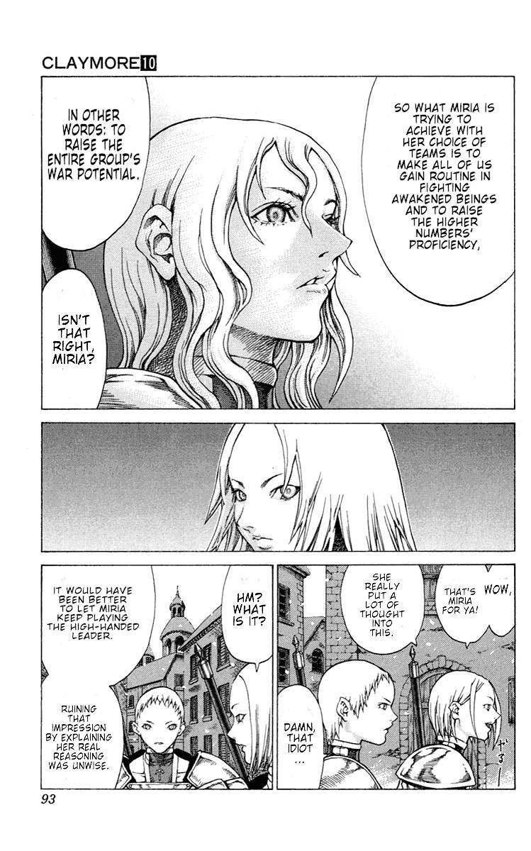 Claymore, Chapter 54 image 022