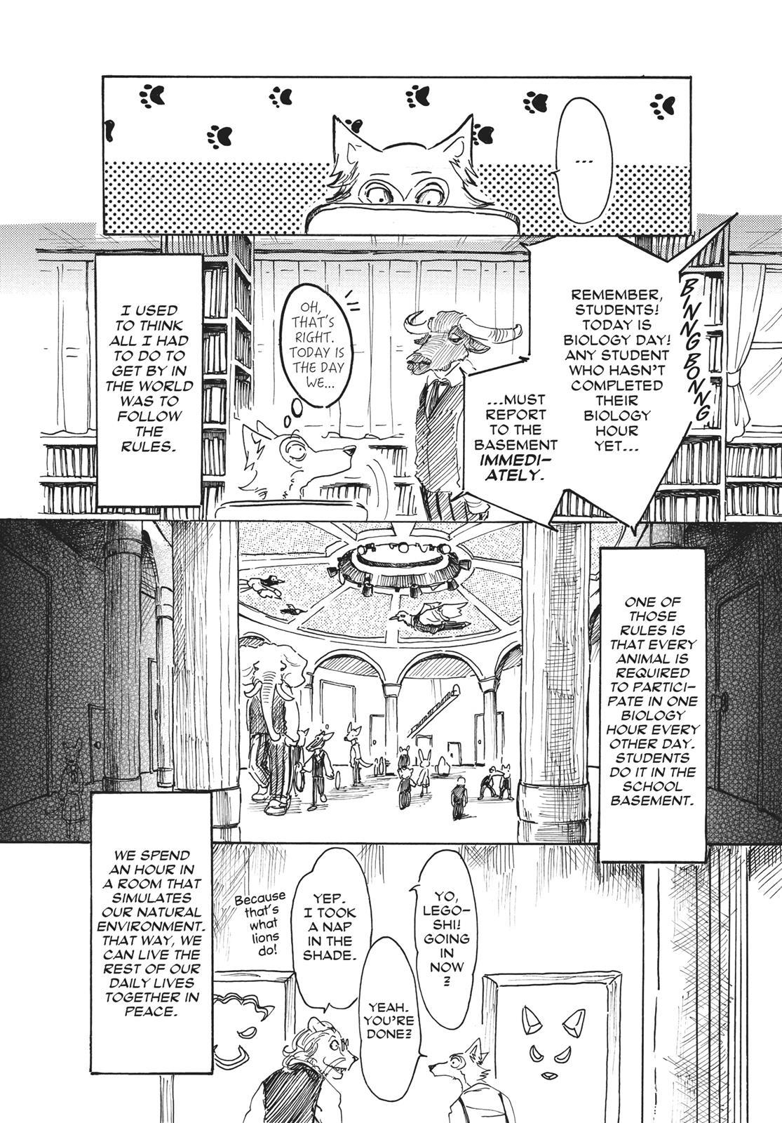Beastars Manga, Chapter 9 image 014