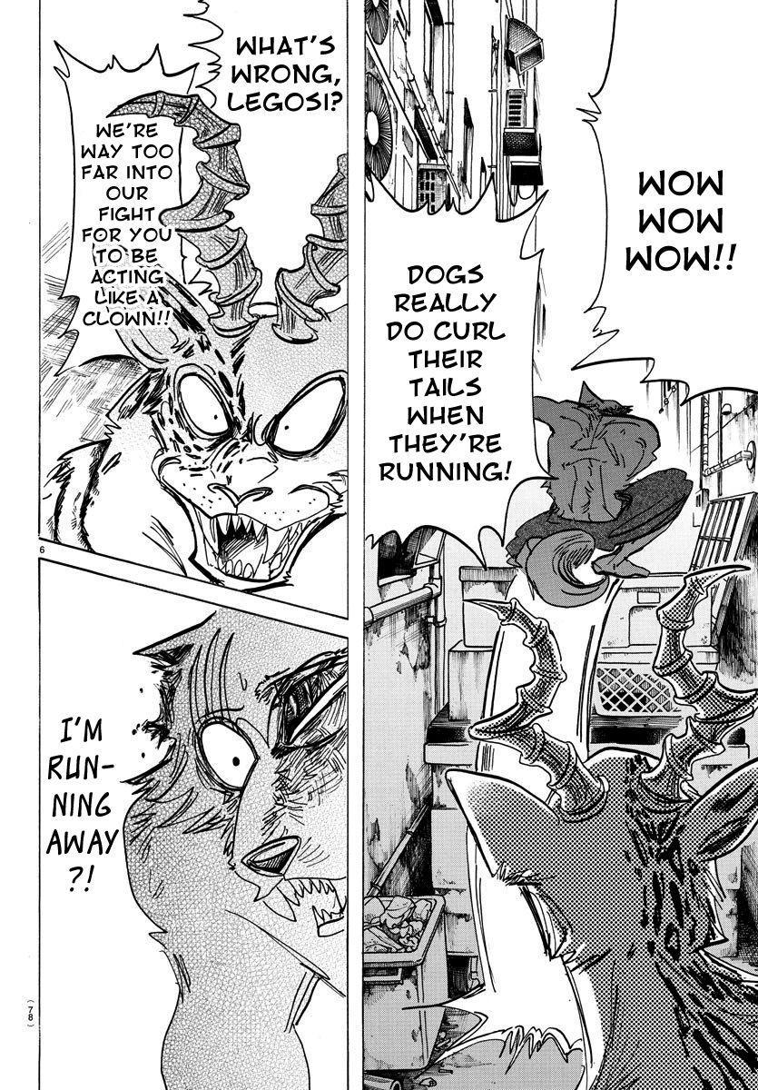 Beastars Manga, Chapter 187 image 006
