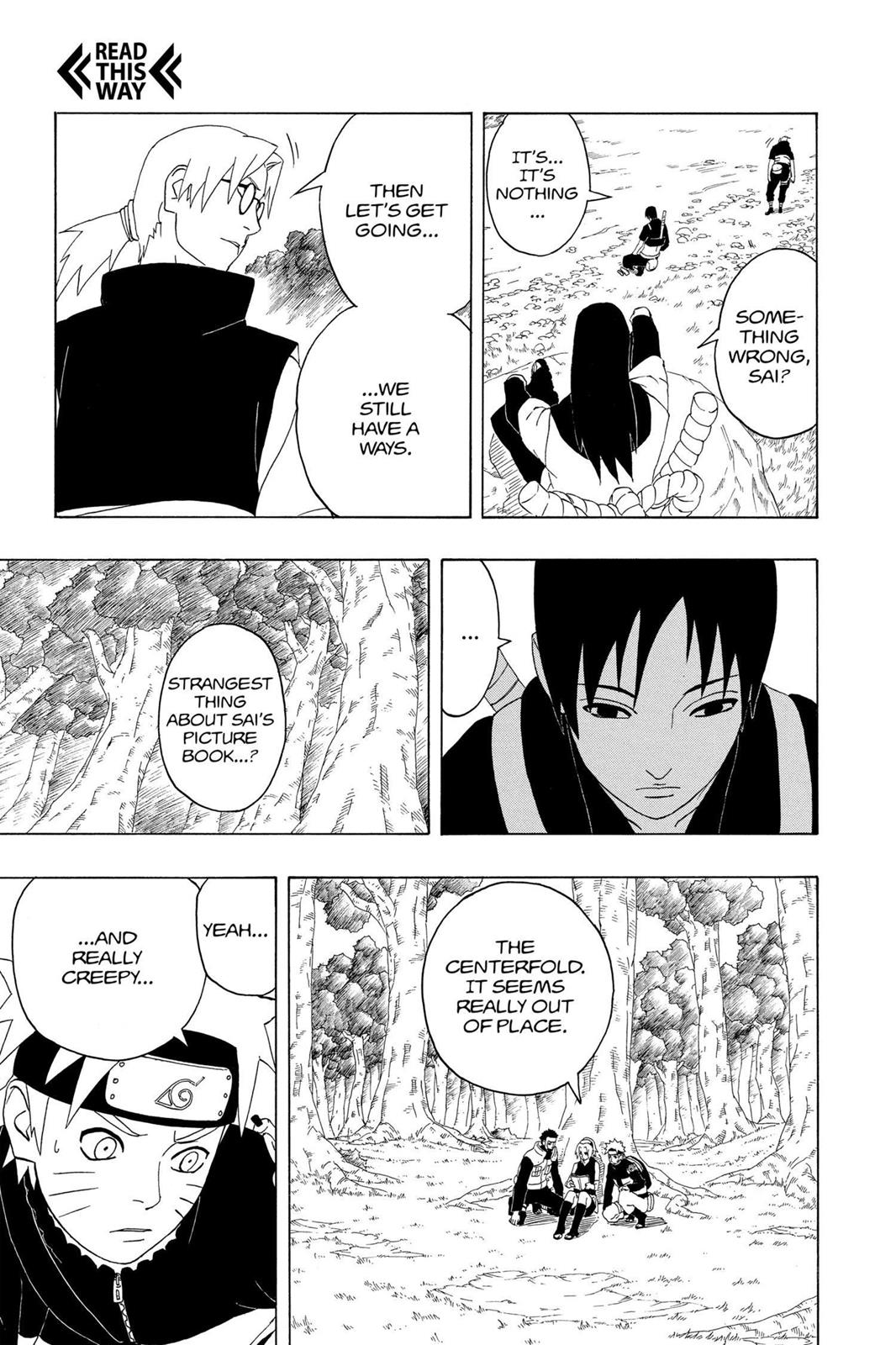 Naruto, Chapter 300 image 012