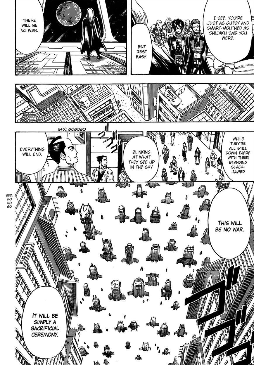 Gintama Chapter, 603 image 014