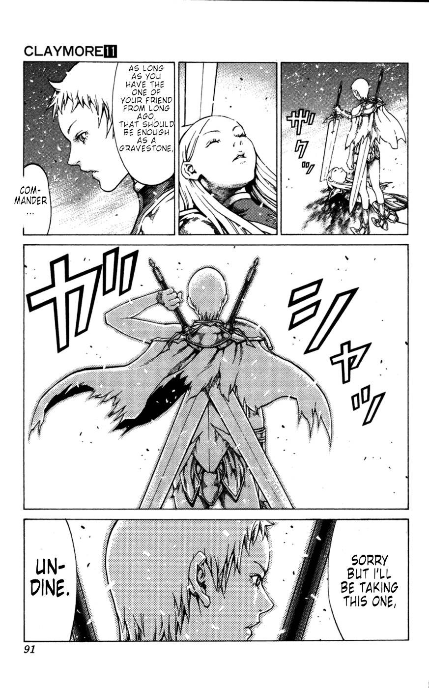 Claymore, Chapter 60 image 020