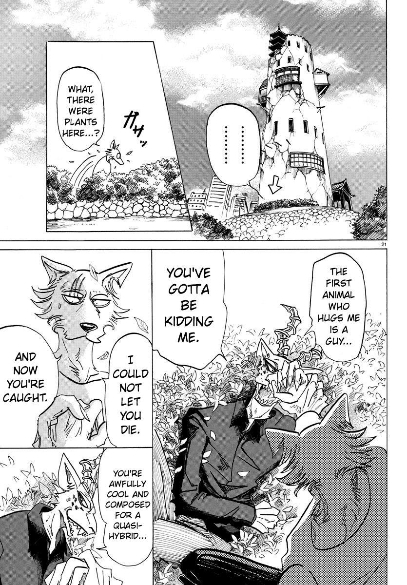 Beastars Manga, Chapter 150 image 021
