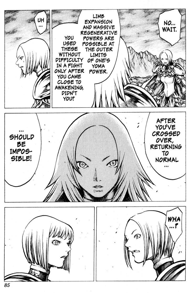 Claymore, Chapter 30 image 016