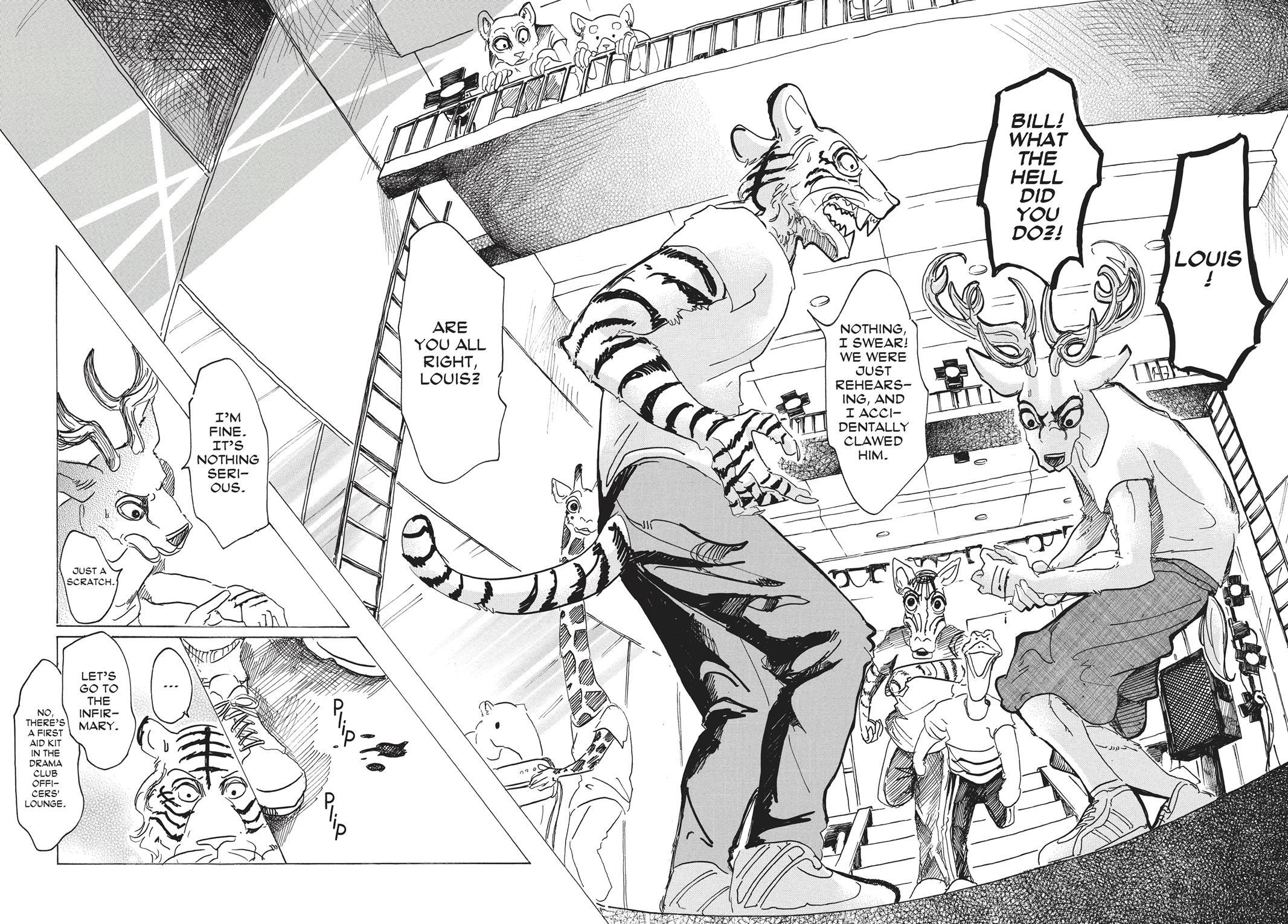 Beastars Manga, Chapter 30 image 010
