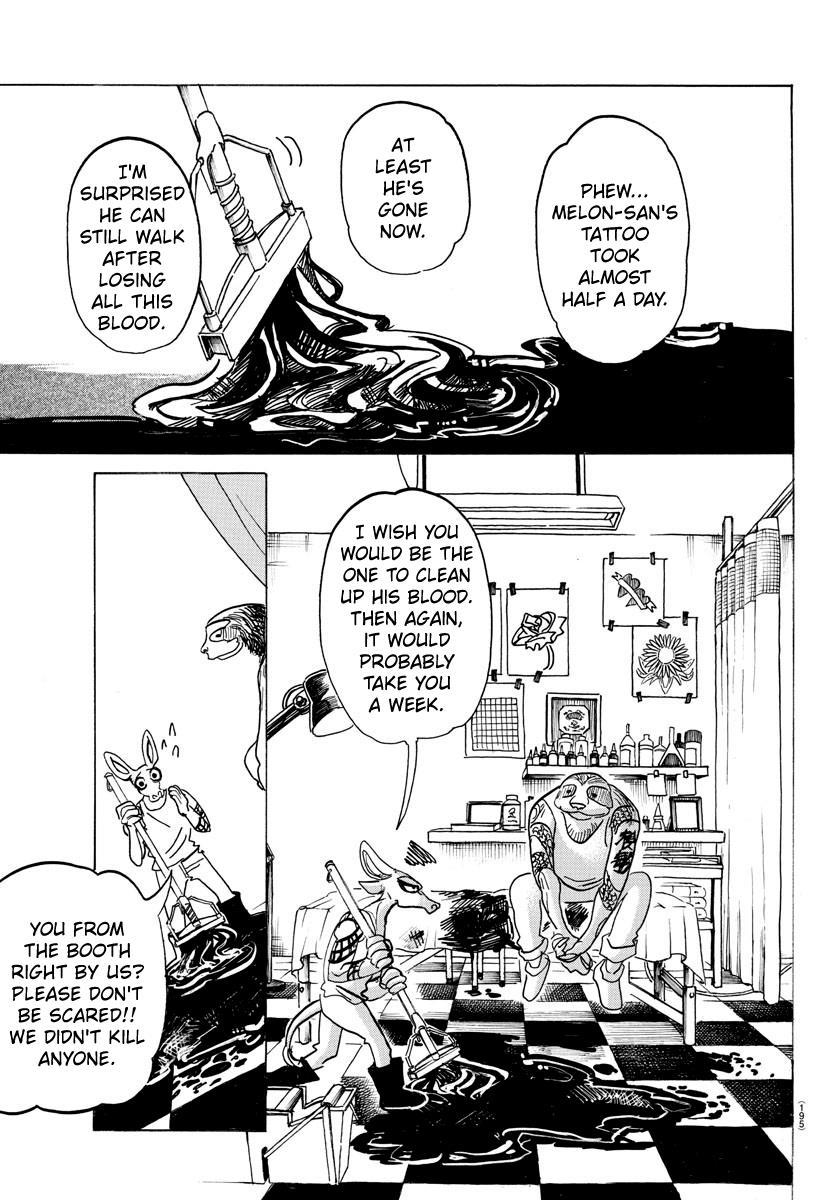 Beastars Manga, Chapter 139 image 017