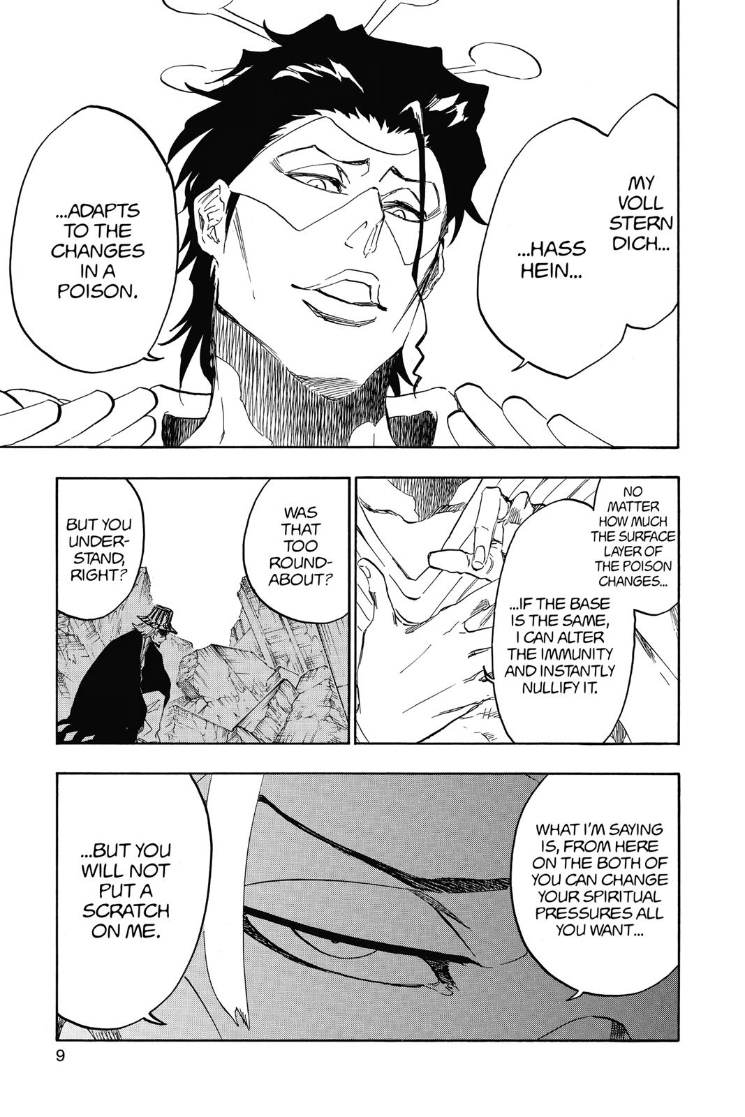 Bleach, Chapter 664 image 009