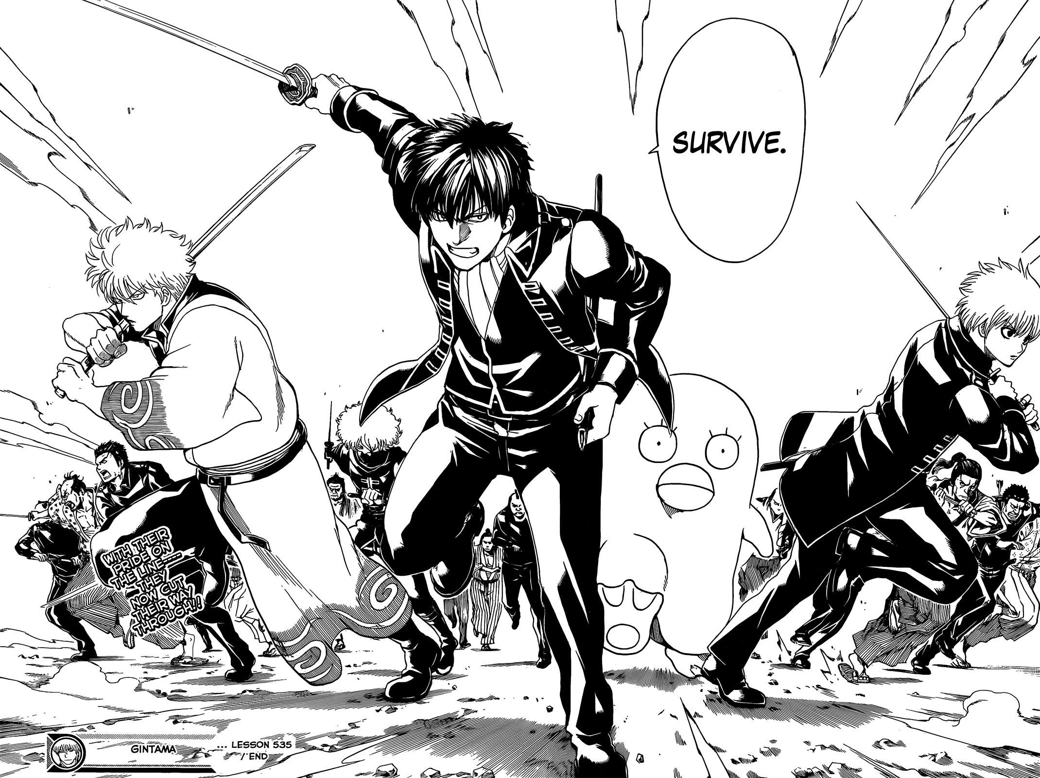 Gintama Chapter, 535 image 018