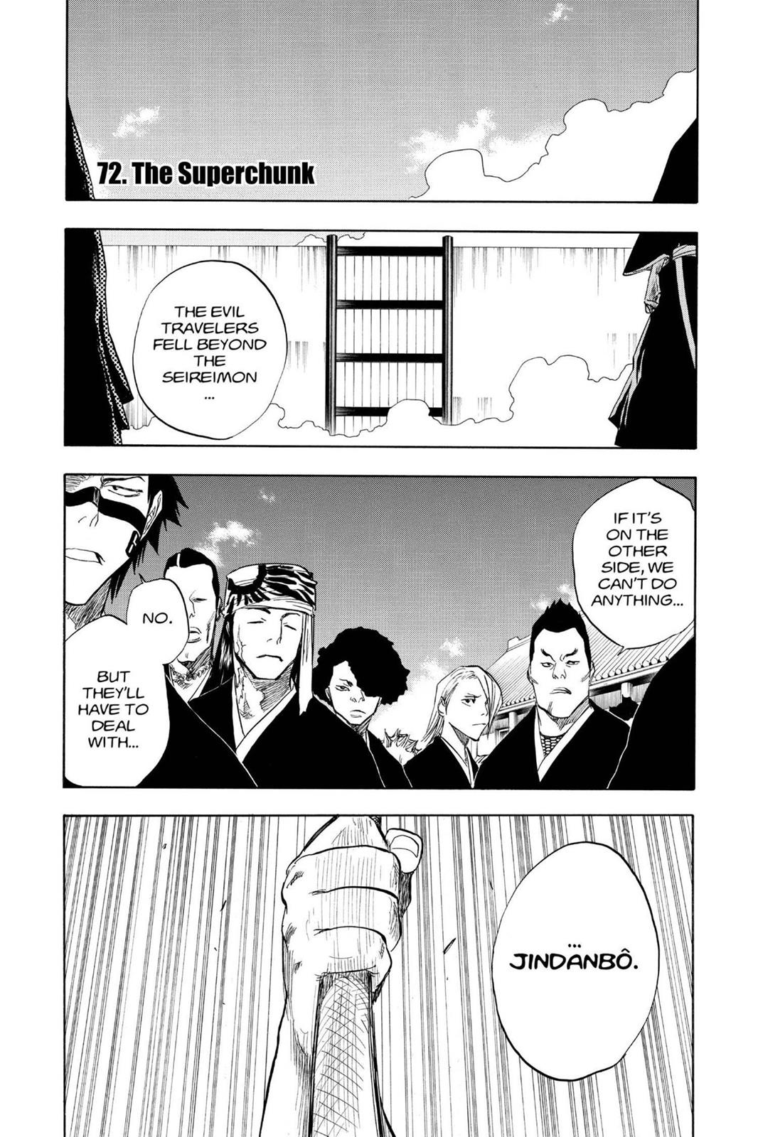 Bleach, Chapter 72 image 001