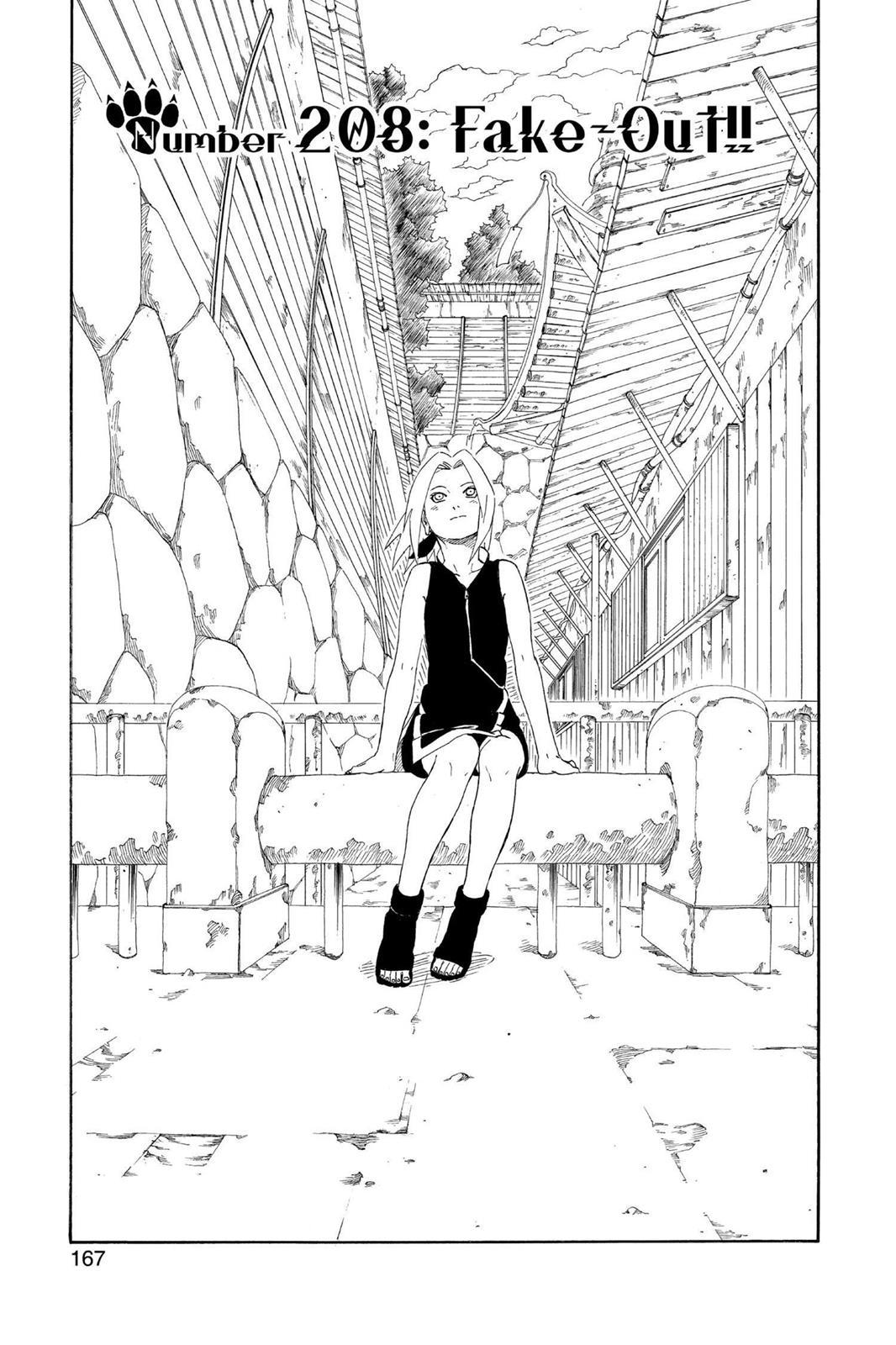 Naruto, Chapter 208 image 001