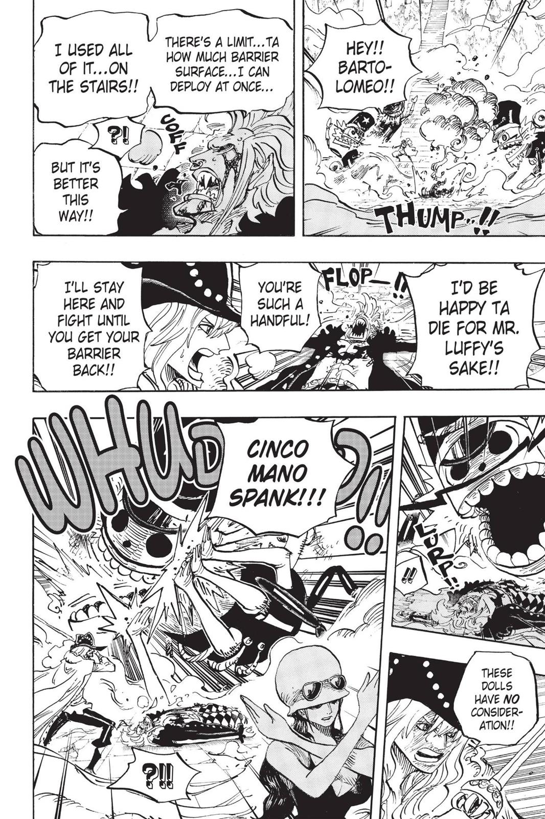 One Piece, Chapter 757 image 006