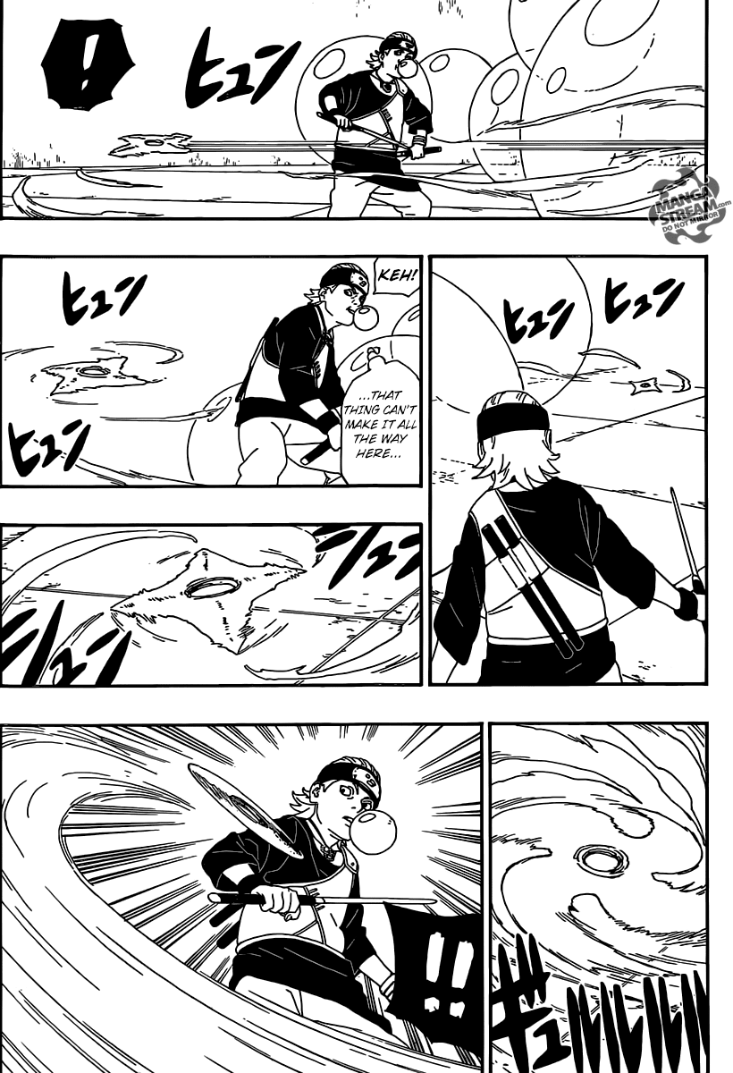 Boruto Manga, Chapter 4 image 034