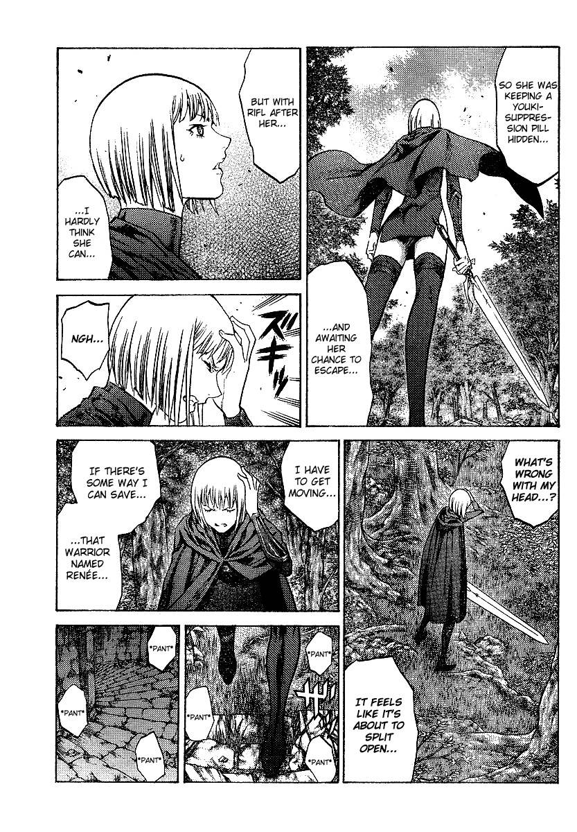 Claymore, Chapter 91 image 022