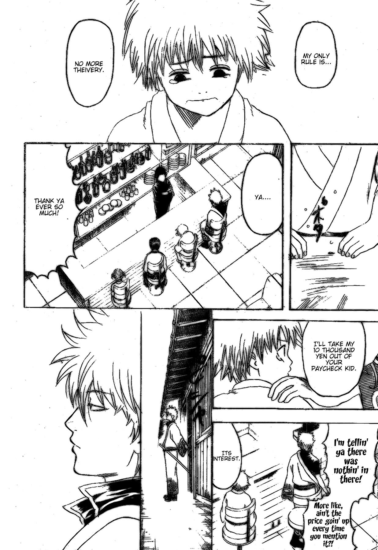 Gintama Chapter, 210 image 012