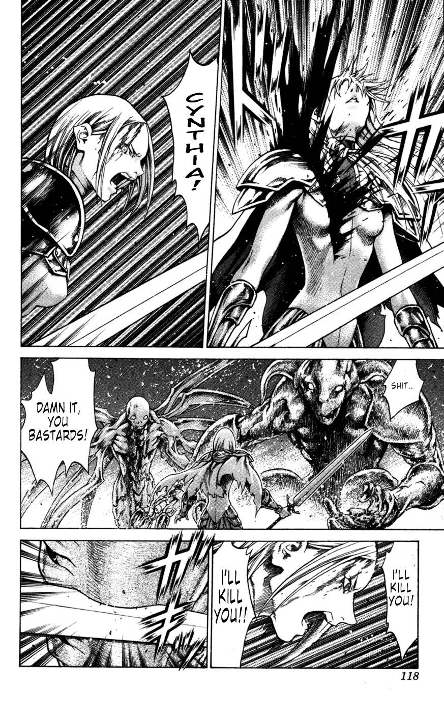 Claymore, Chapter 61 image 024