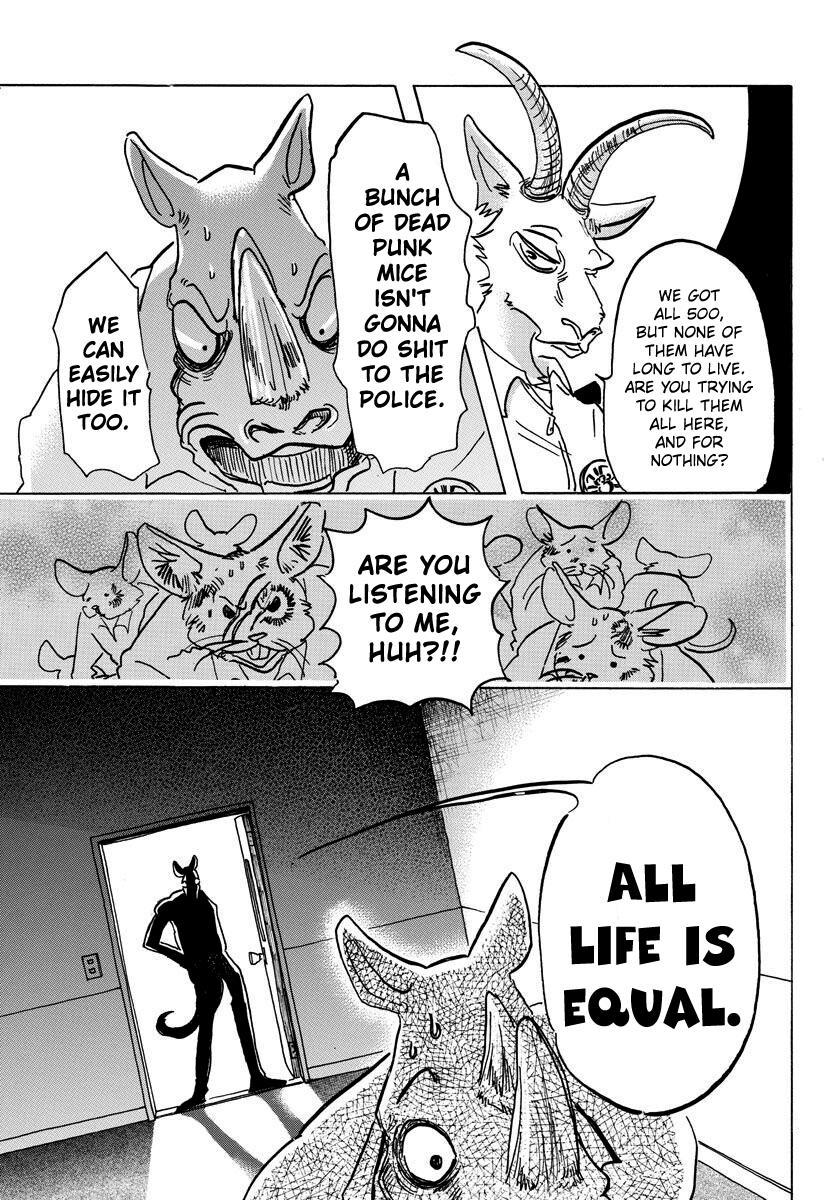 Beastars Manga, Chapter 138 image 012