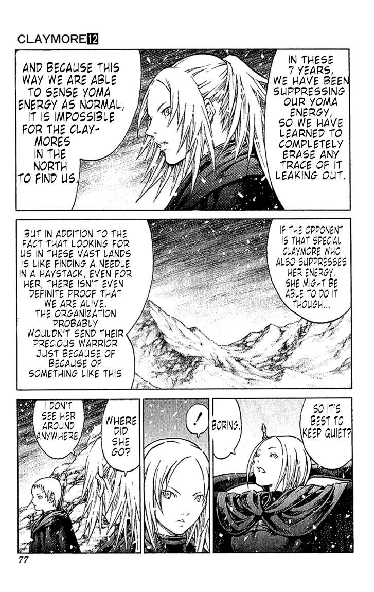 Claymore, Chapter 66 image 006