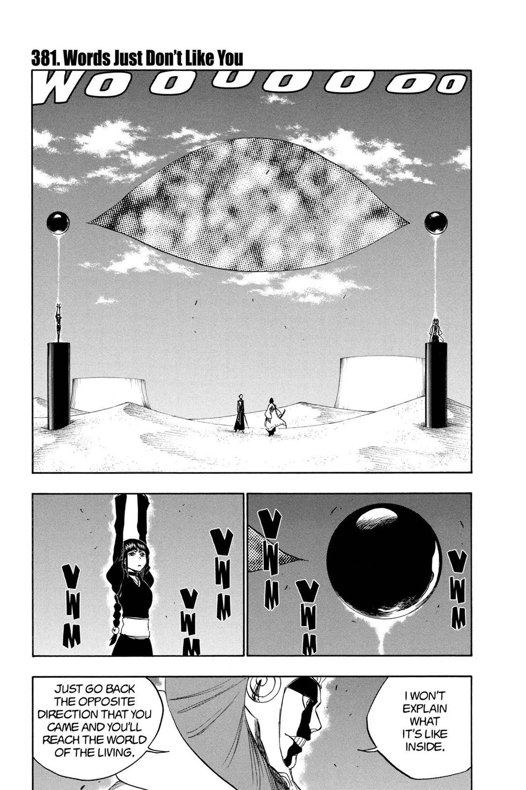 Bleach, Chapter 381 image 001
