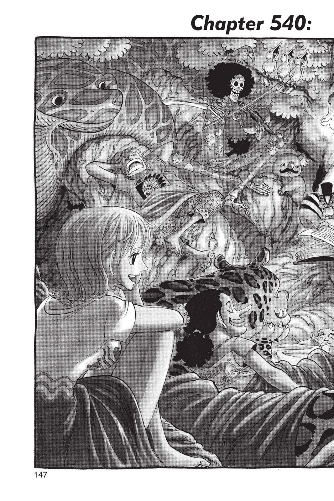 One Piece, Chapter 540 image 002
