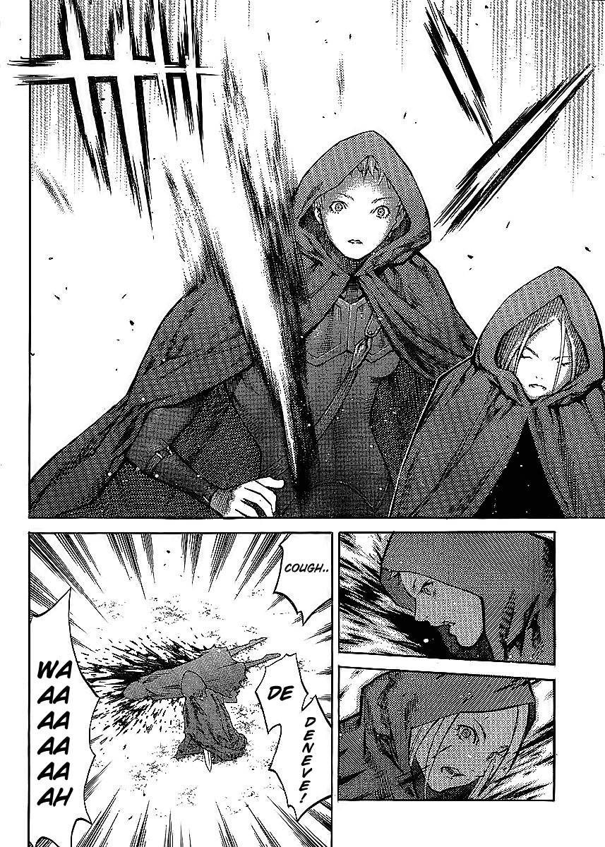 Claymore, Chapter 86 image 027