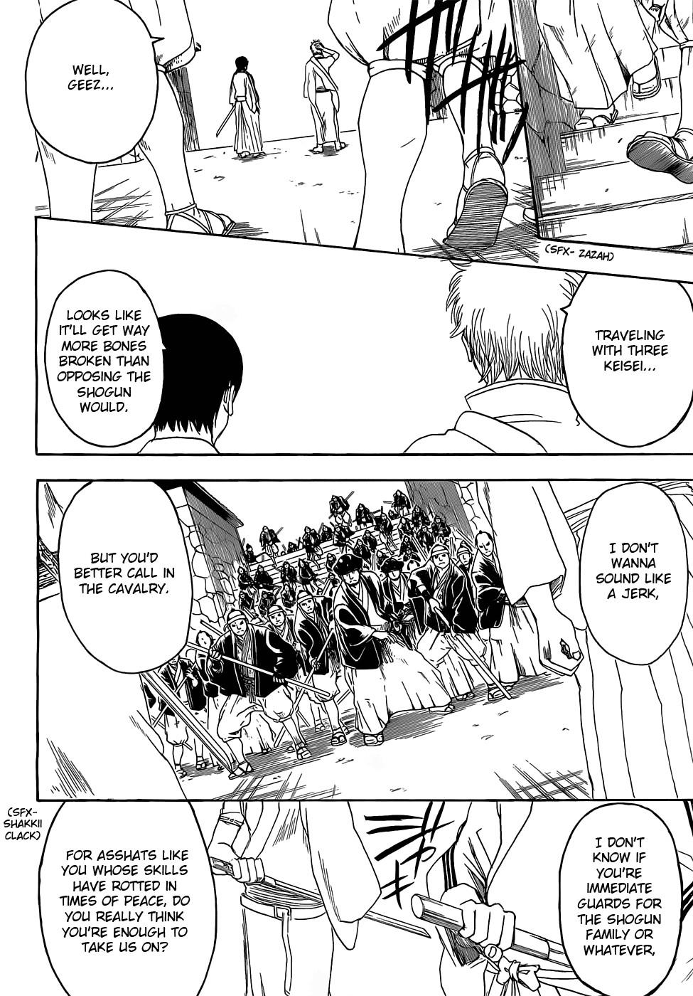 Gintama Chapter, 390 image 016