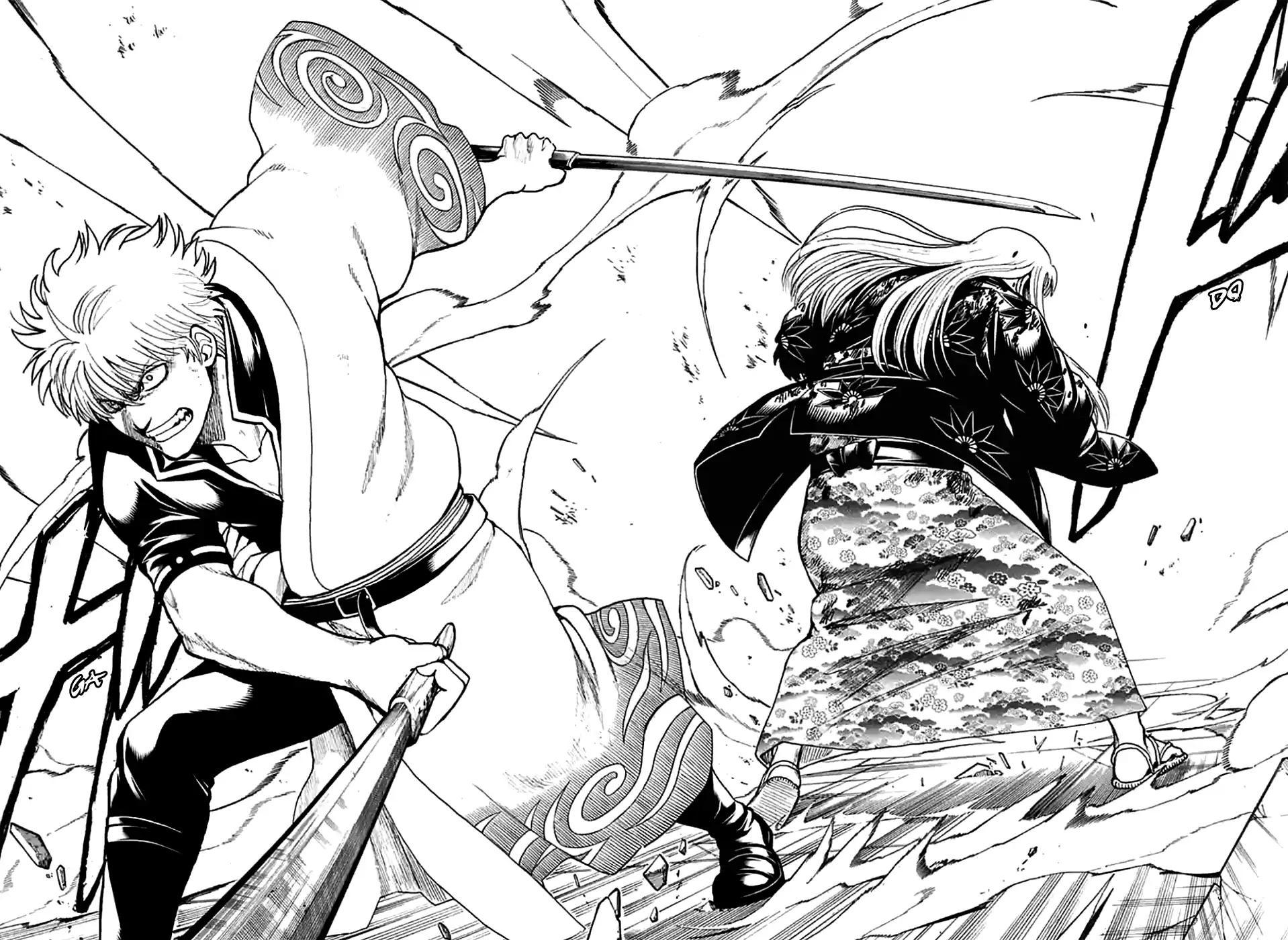 Gintama Chapter, 703 image 029