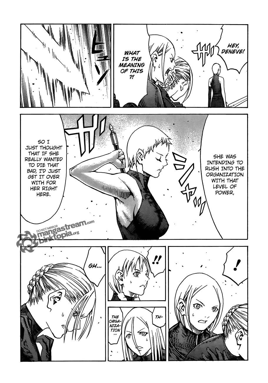 Claymore, Chapter 109 image 018