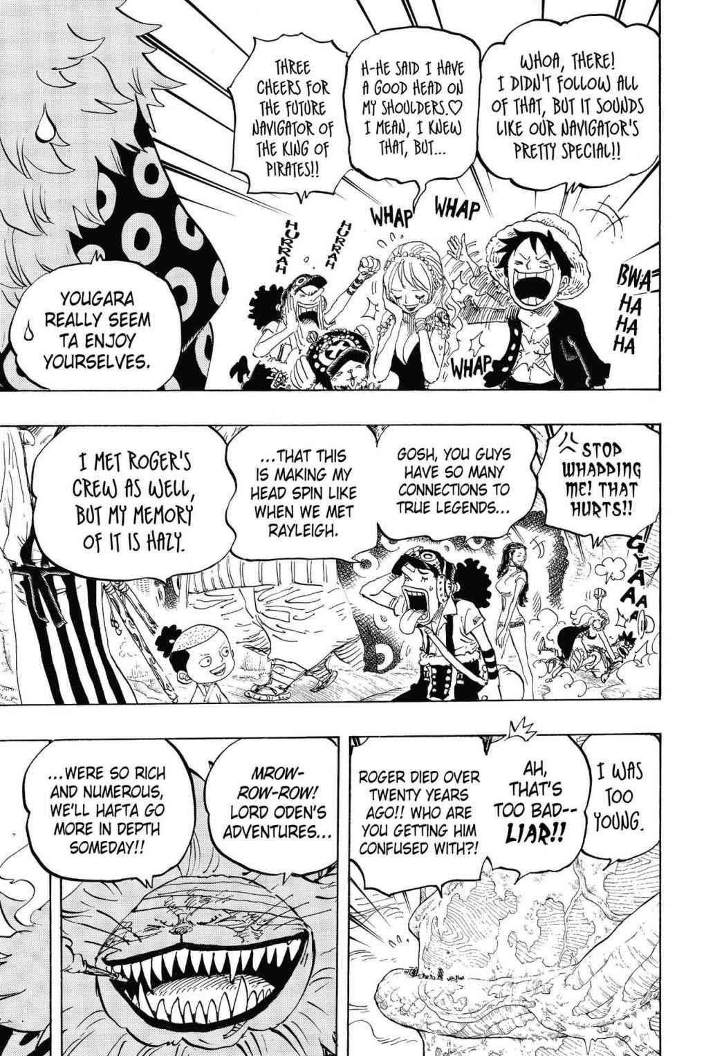 One Piece, Chapter 820 image 009