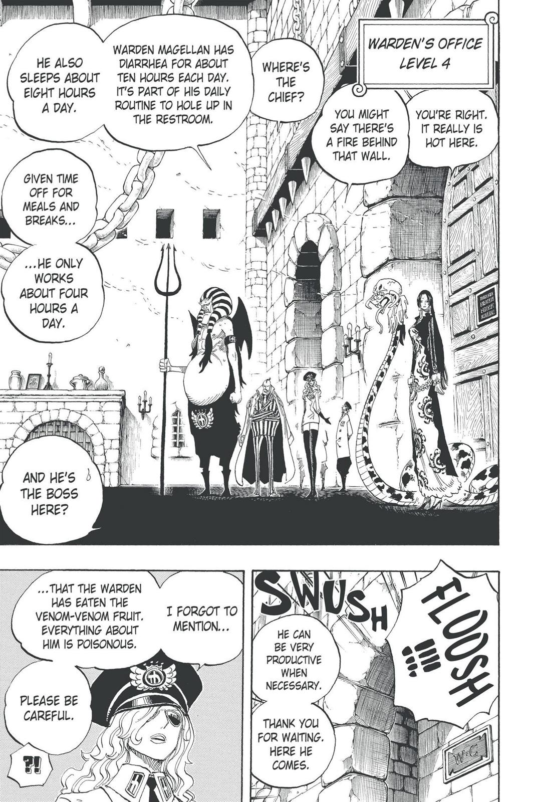 One Piece, Chapter 528 image 005