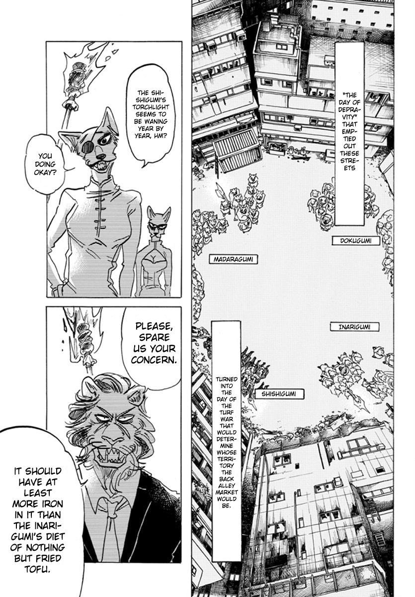 Beastars Manga, Chapter 156 image 010