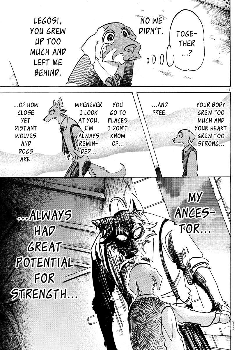 Beastars Manga, Chapter 153 image 012