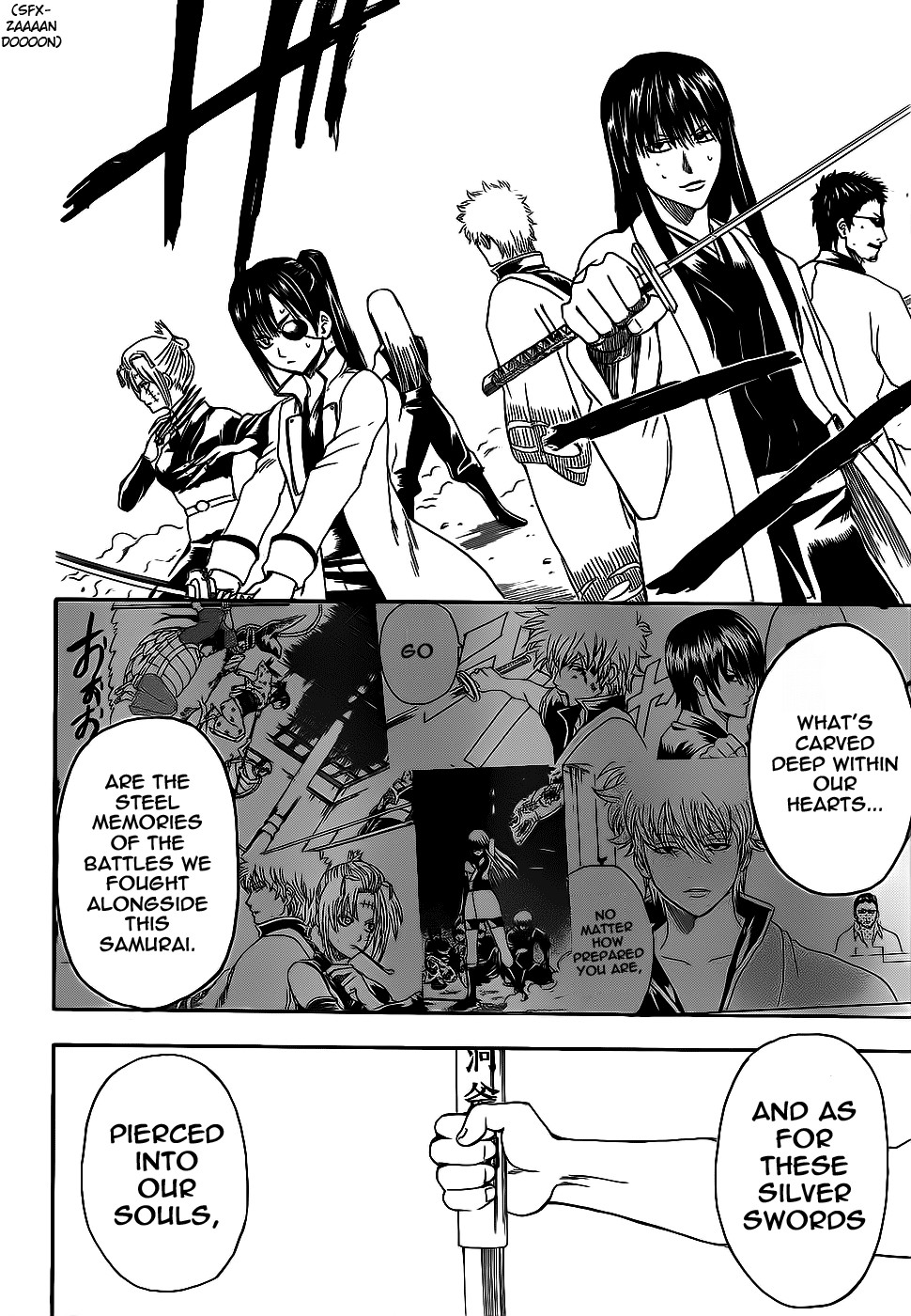 Gintama Chapter, 378 image 014