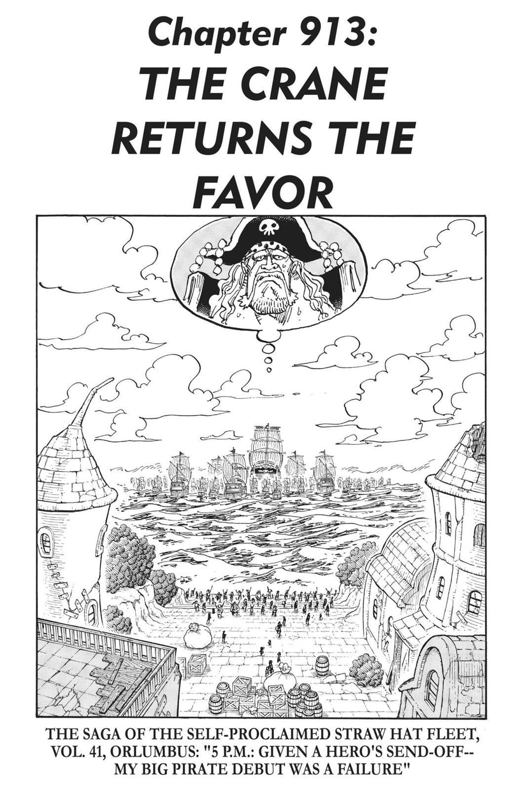 One Piece, Chapter 913 image 001