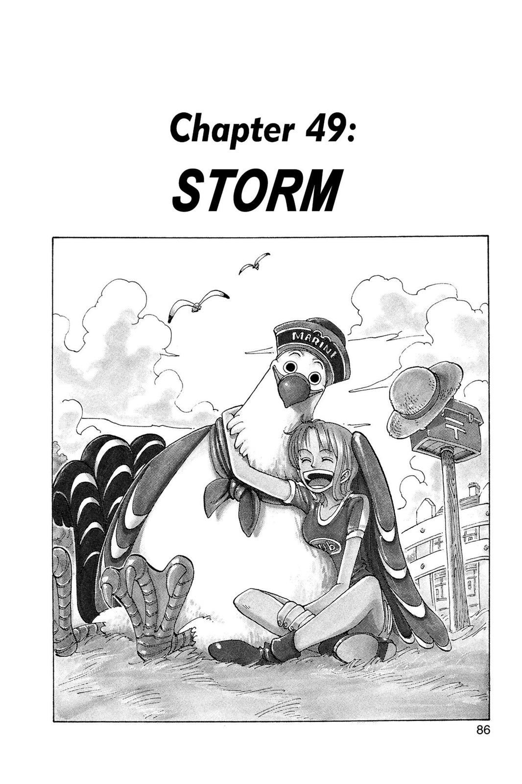 One Piece, Chapter 49 image 001