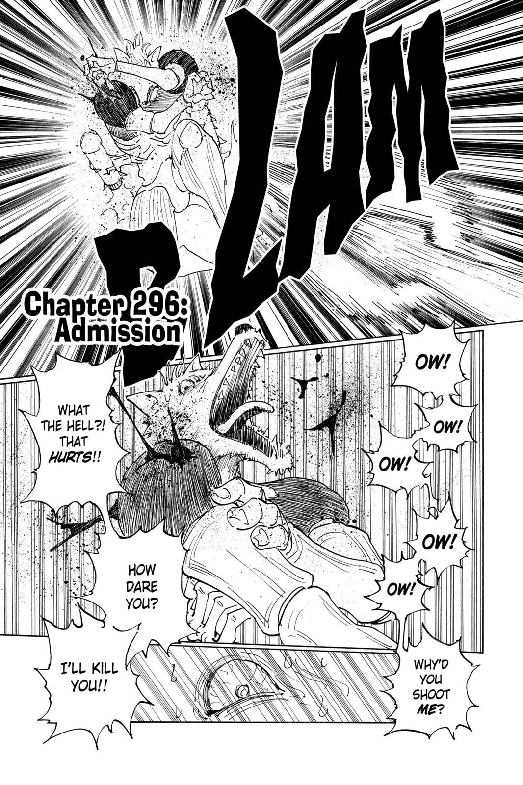 Hunter X Hunter, Chapter 296 image 001