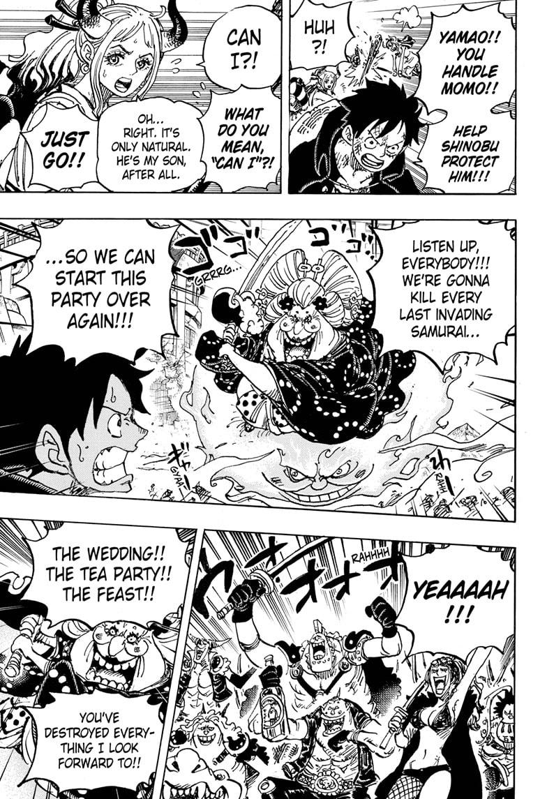 One Piece, Chapter 988 image 010