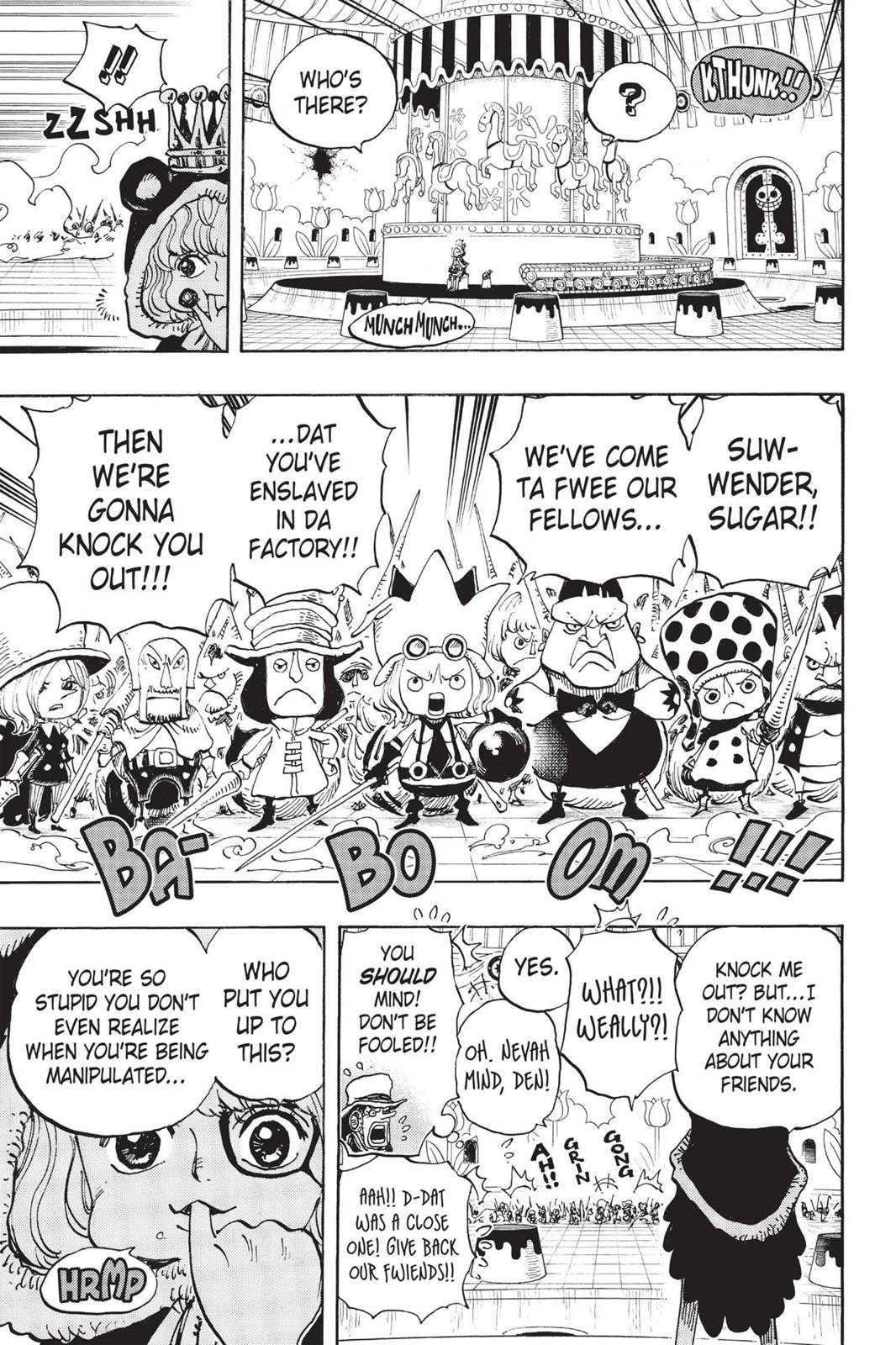 One Piece, Chapter 738 image 011