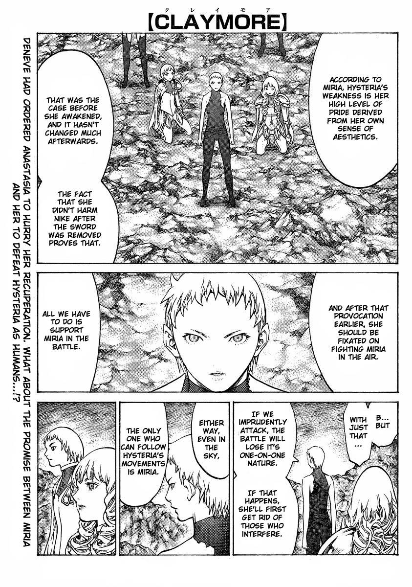 Claymore, Chapter 124 image 001