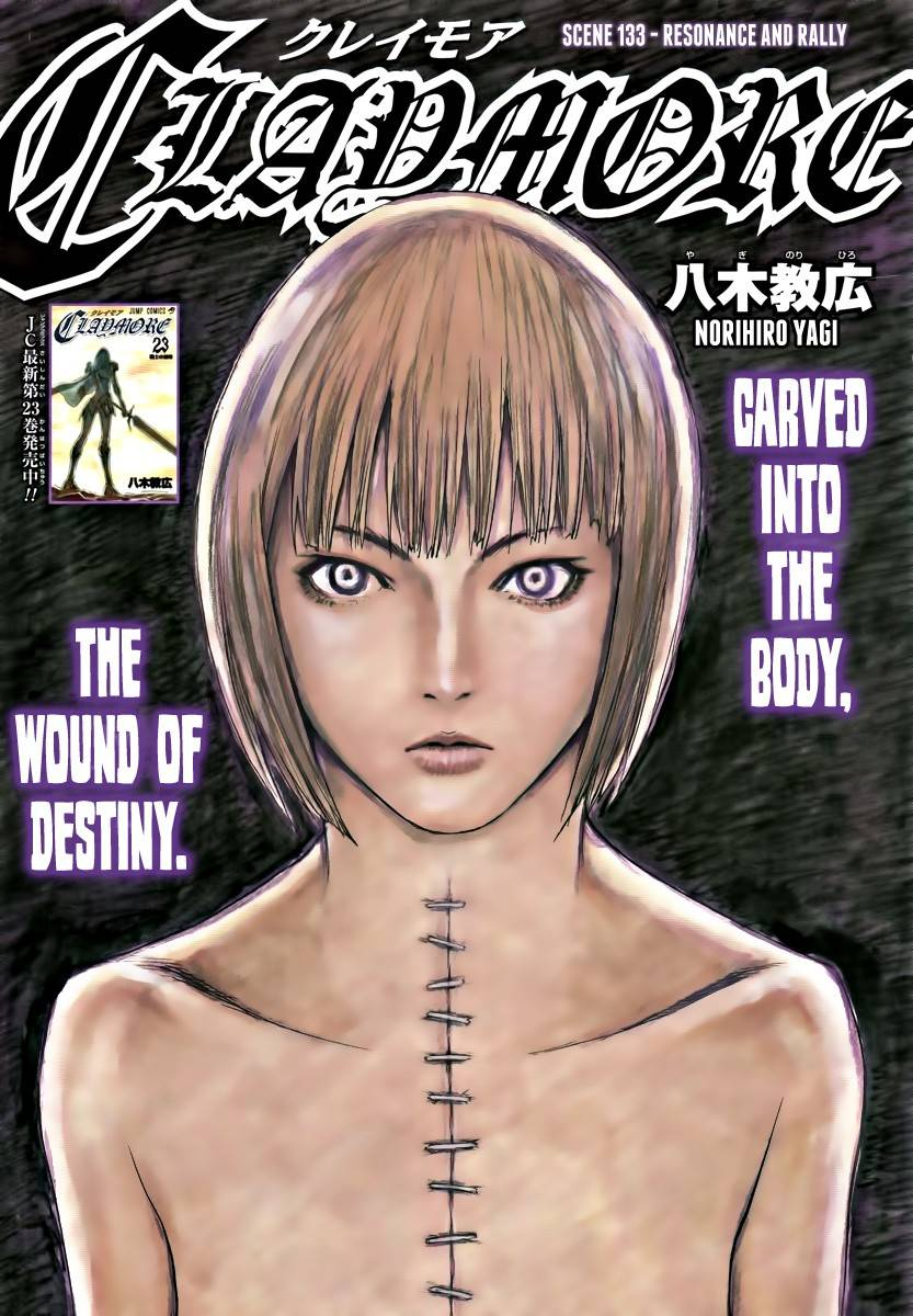 Claymore, Chapter 133 image 001