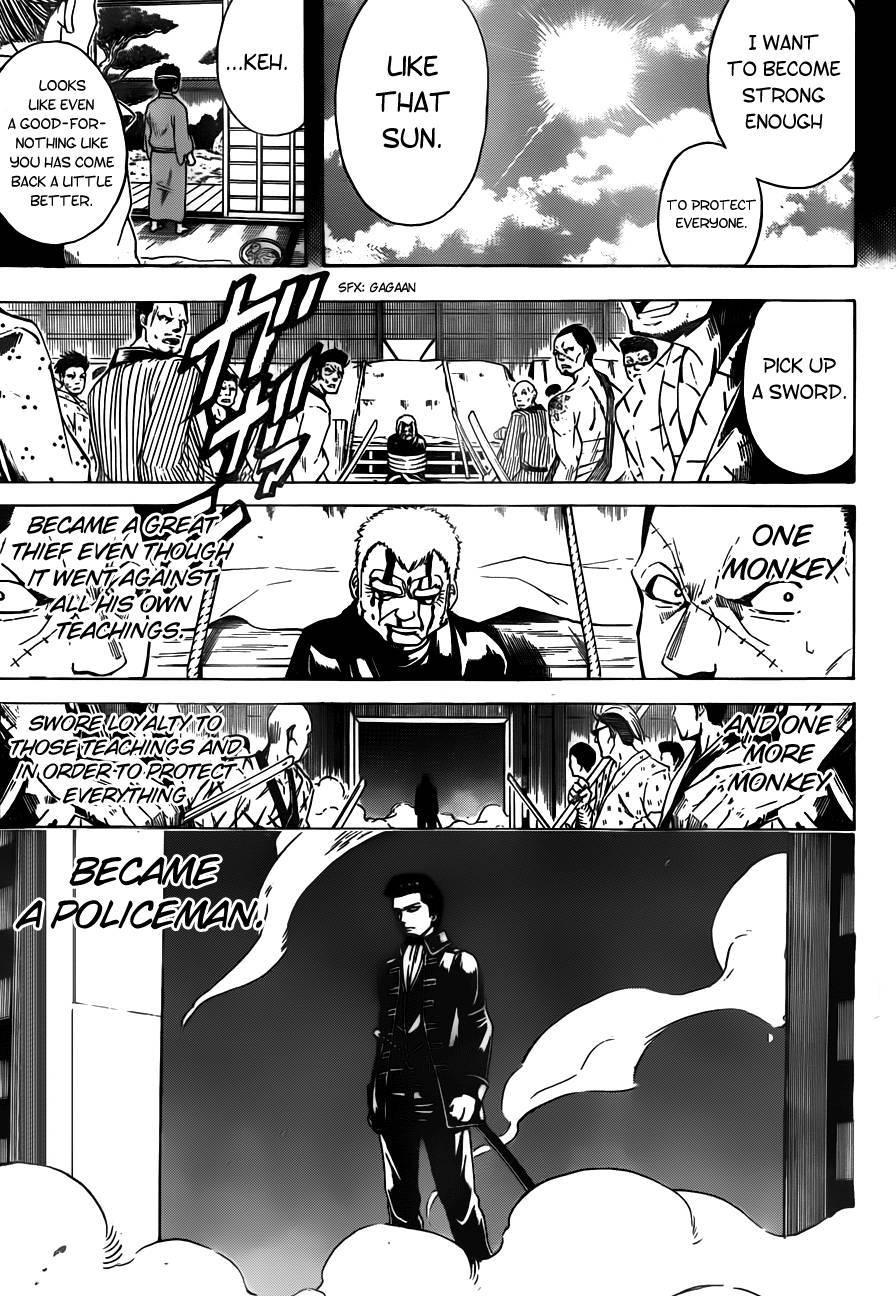 Gintama Chapter, 483 image 011
