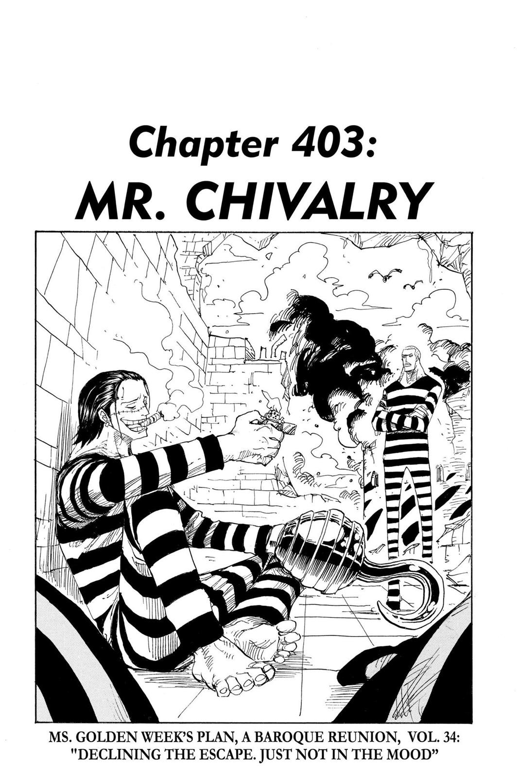 One Piece, Chapter 403 image 001