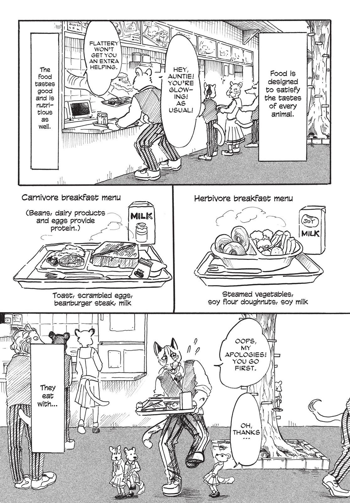 Beastars Manga, Chapter 6 image 007