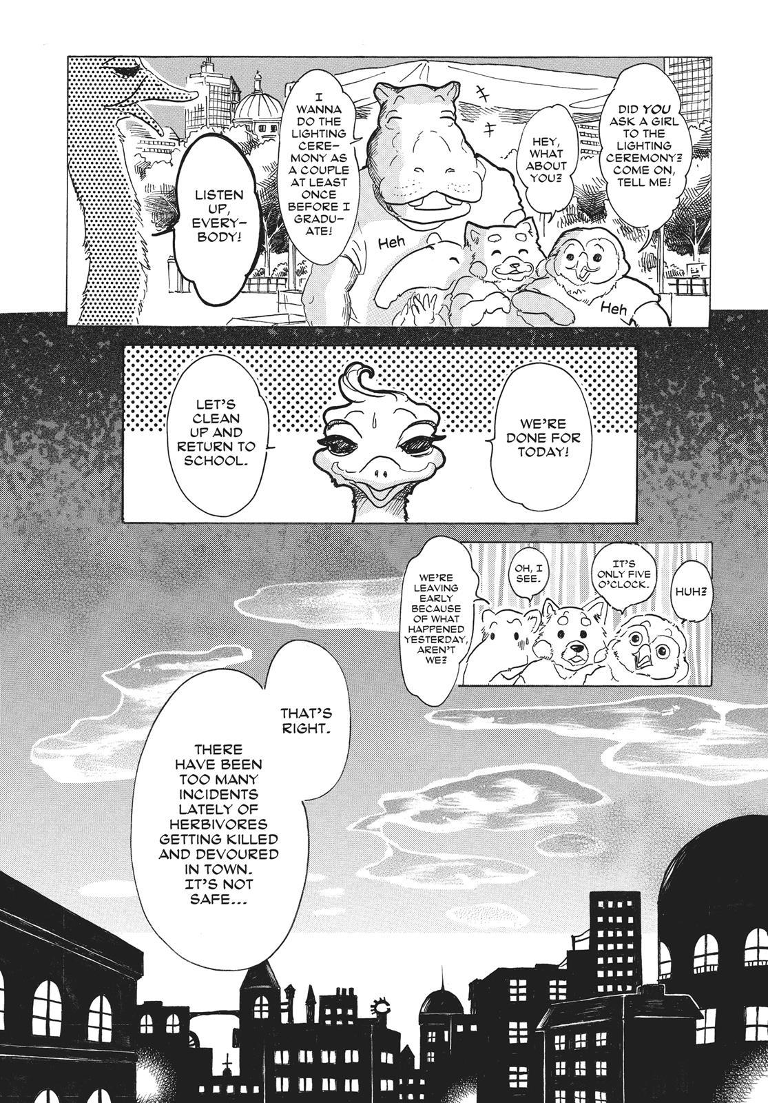 Beastars Manga, Chapter 29 image 005