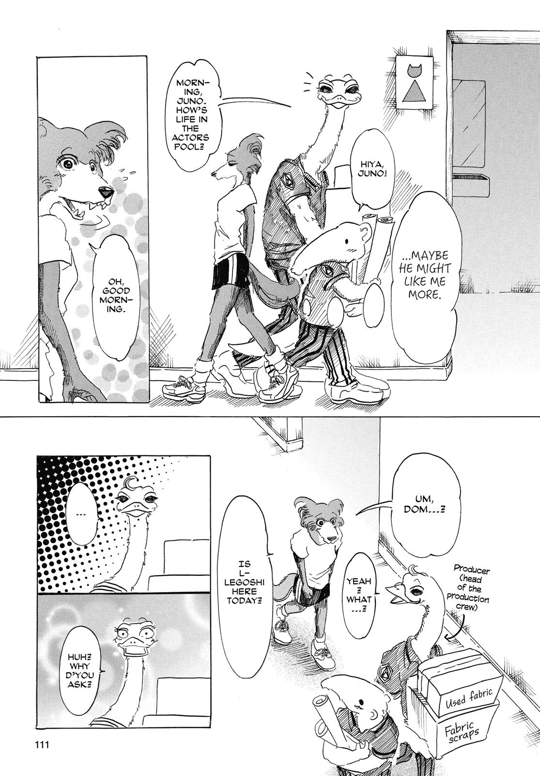 Beastars Manga, Chapter 22 image 003