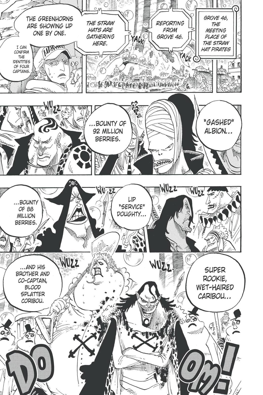One Piece, Chapter 600 image 007