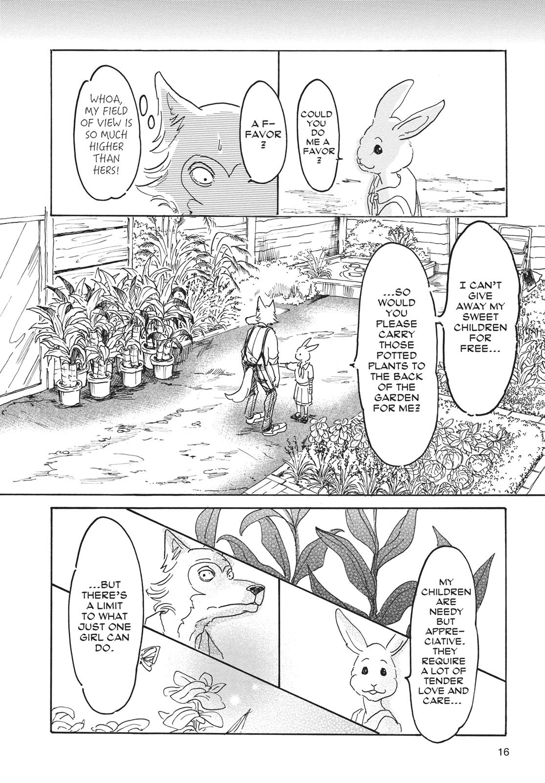 Beastars Manga, Chapter 8 image 016