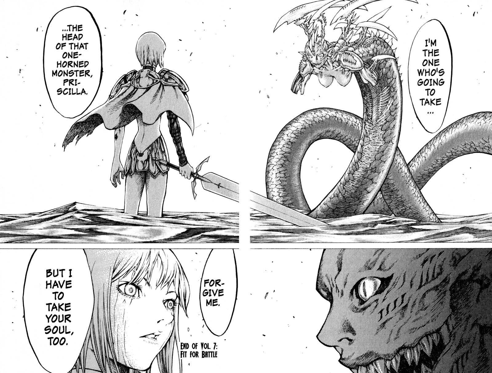 Claymore, Chapter 39 image 027