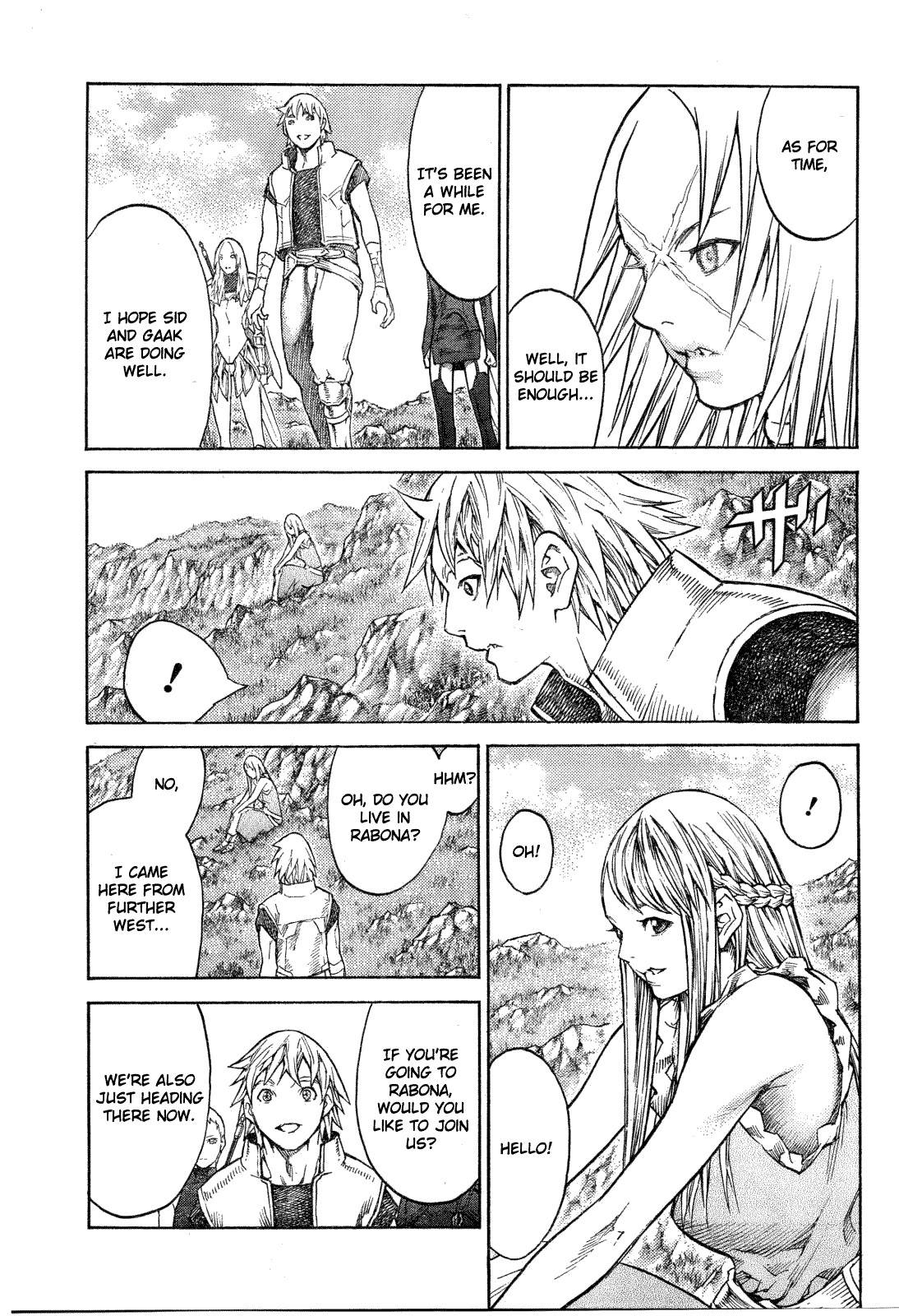 Claymore, Chapter 128 image 004