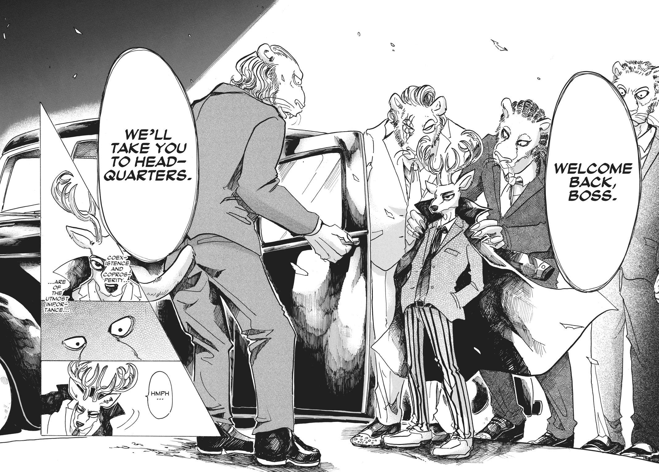 Beastars Manga, Chapter 50 image 018